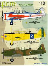 FCM Decals 1/32 NORTH AMERICAN T-6 TEXAN Brazilian Air Force