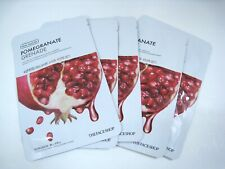 [THE FACE SHOP] Real Nature Mask Sheet - Pomegranate 20g X 5 Sheet