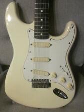 Fender Electric Guitar Stratocaster Squier Japan Fugi-Gen super nice white 84-87
