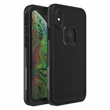 Lifeproof FRĒ SERIES Waterproof Case for iPhone Xs ASPHALT (BLACK/DARK GREY)