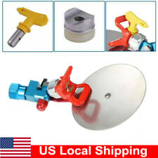 """Universal Airless Paint Spray Accessory Guide H0W3 Tip Titan 7/8"""" Sprayer Tool"""