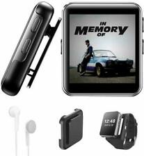 16GB Clip MP3 Player with Bluetooth, Sports Watch MP3 Player with Touch Screen