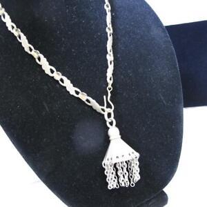 Vintage Bedouin Yemen Tribal Chain Necklace 65% Copper *AS IS 103.8g #C27