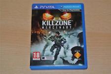 Killzone Mercenary PSVita Playstation Vita **FREE UK POSTAGE**