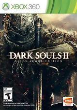 Dark Souls II Black Armor Edition Xbox 360 Metal Case/Art Book NEW