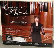 Reference Recordings CD RR-113: Organ Odyssey - MARY PRESTON, organ 2008 USA SS