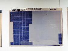 YAMAHA XJ 600 _ H _N_ 1990 microfilm catalogo ricambi PEZZO DI LISTELLO