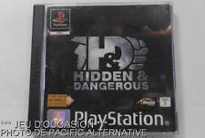COMPLET: Jeu HIDDEN AND DANGEROUS pour playstation 1 ps1 ps one game francais &