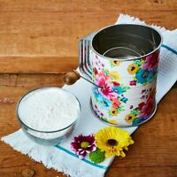 NEW! PIONEER WOMAN FLOUR SIFTER ~ NEW~ FLORAL~ SPRING BOUQUET~HARD TO FIND!