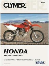 CLYMER MANUAL HONDA XR650R 2000-2007