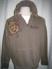RAGWEAR MAUI,HAWAII PREWASHED BROWN HOODIE MEN SIZE XL  NICE