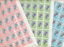[ALAA 096] MONACO 1966 (1968 1969) MNH Prince Rainer Princess Grace set sheets