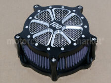 Contrast Deep Cut Speed 7 Air Cleaner Filter For Harley Sportster 833 1200 New