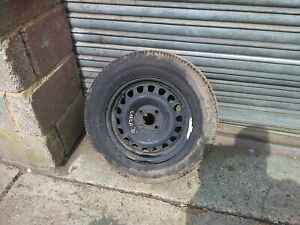 Vauxhall corsa D 06-14 Wheel With 185/70r14 goodyear  tyre with 7mm of tread