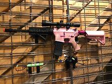 Airsoft G&G Custom Pink Femme Fatale Special Edition AEG M4 Combat Machine