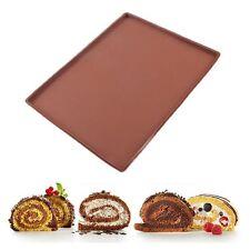 Kitchen Chocolate Baking Pan Swiss Cake Roll Mat Silicone Pizza