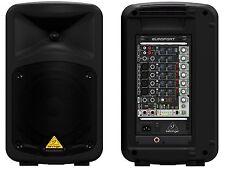 BEHRINGER EPS500MP SISTEMA AMPLIFICATO COMPLETO PORTATILE 8 CH LETTORE MP3 500W