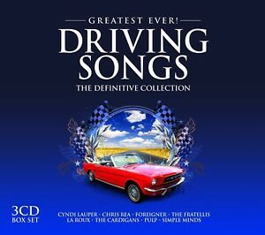 Driving Songs-Greatest Ever  Simple Minds, the Cardigans 3 CD NEUF
