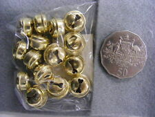 Jingle Bells 15mm Gold  Pkt 15
