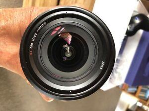 Zeiss 21mm f2.8 Milvus lens to suit Nikon DSLR