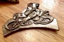 Ogri Pin Badge, Ace Cafe Racer, Piston Broke, Ton Up Pirate, Manx Biker IOM TT
