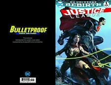 Justice League Rebirth#1 Color Dell'Otto Bulletproof NM BUY FROM the SOURCE! NM!