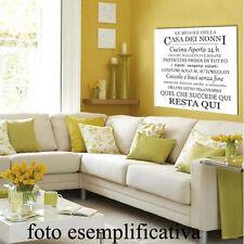 Quadri in tela_F.to 30x30 cm_Le regole della casa dei nonni