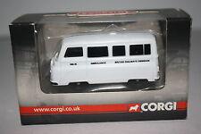 Corgi Trackside: Morris J2 British Rail Swindon Ambulance NIB