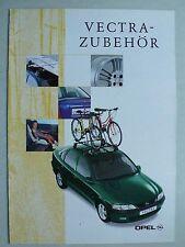 Prospekt Opel Vectra B Zubehör, ca.1997, 4 Seiten