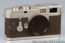 LEICA LEITZ M3 DS 1954 CHROME CAMERA SN.700355 EXTREMELY RARE FIRST BATCH