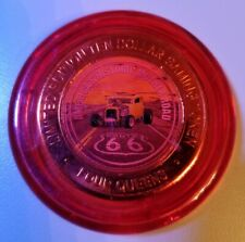 ROUTE 66 2019 FOUR QUEENS $10 RED Cap Silver Strike .999 Fine Silver Car