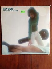 Henry Gross Show Me to the Stage 1977 LP SEALED Pop Rock