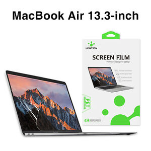 LENTION Ultra-thin HD Screen Protector Cover for 2020 MacBook Air 13 A2337 A2179