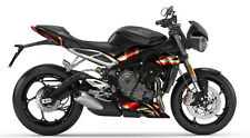 TRIUMPH STREET TRIPLE 765 RS Drapeau Britannique Stickers graphique SET