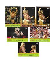 TOPPS WWE 6 ULTIMATE WARRIOR WRESTLING CARDS see scan 2 HULK HOGAN ON CARDS