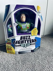 Toy story Buzz Lightyear thinkway toys signature collection