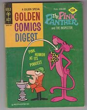 Golden Comics Digest PINK PANTHER #45 Whitman 1975 Western Publishing Inspector