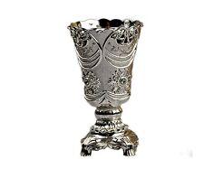 Bukhoor Burner  Arab Incense Oud Burner, Silver Metal, Tray Inside USA Seller