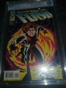 Flash #92 9.8 CBCS White (cgc pgx) DC 1994 1st appearance of Impulse, Kid Flash