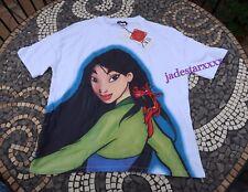 Zara Mulan Disney T Shirt White L Large 12 New