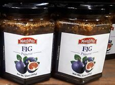 MARCO POLO FIG PRESERVES - 13OZ (2 Pack) Product of Bulgaria