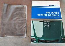 Volvo 850 owner's manual 1993