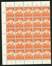 Reich 755 postfris veldeel van 25 zegels (2)