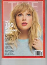 TAYLOR SWIFT 100 MOST INFLUENTIAL PEOPLE TIME MAGAZINE APRIL 29 2019 NO LABEL