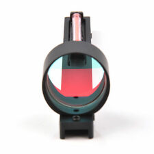 Red Dot Holographic Sight Red Fiber Scope Sight Fit Shotgun Rib Rail Hunting