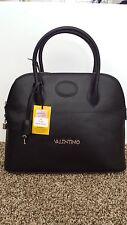NWT VALENTINO BY MARIO VALENTINO CERI BLACK TEXTURED LEATHER BAG PURSE