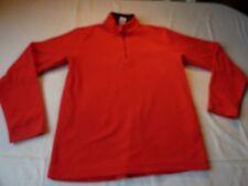 QUECHUA ans 12 143-152 Cm Rouge Polyester Polaire Sweat