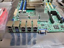 Supermicro X10SLH-LN6TF Motherboard w/ onboard 6x 10G 3x X540-T2 Nics &TPM &HSU