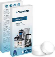 Wessper 10 Stück Reinigungstabletten f alle Kaffeevollautomat und Kaffeemaschine