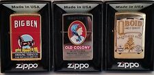 Zippo Lighters Tobacco Tin SET 1 of Tobacco Tin Series No 2 Limited Edition RARE